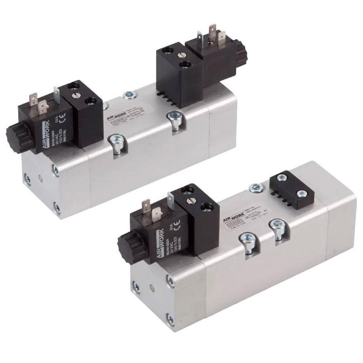Davair Pneumatic Valves - ISO Valves 5599/1, VI Series