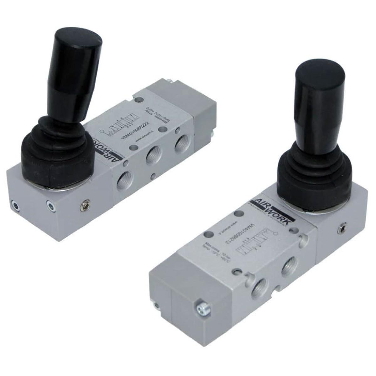 Davair Pneumatic Valves - Manual Valves, VM Series
