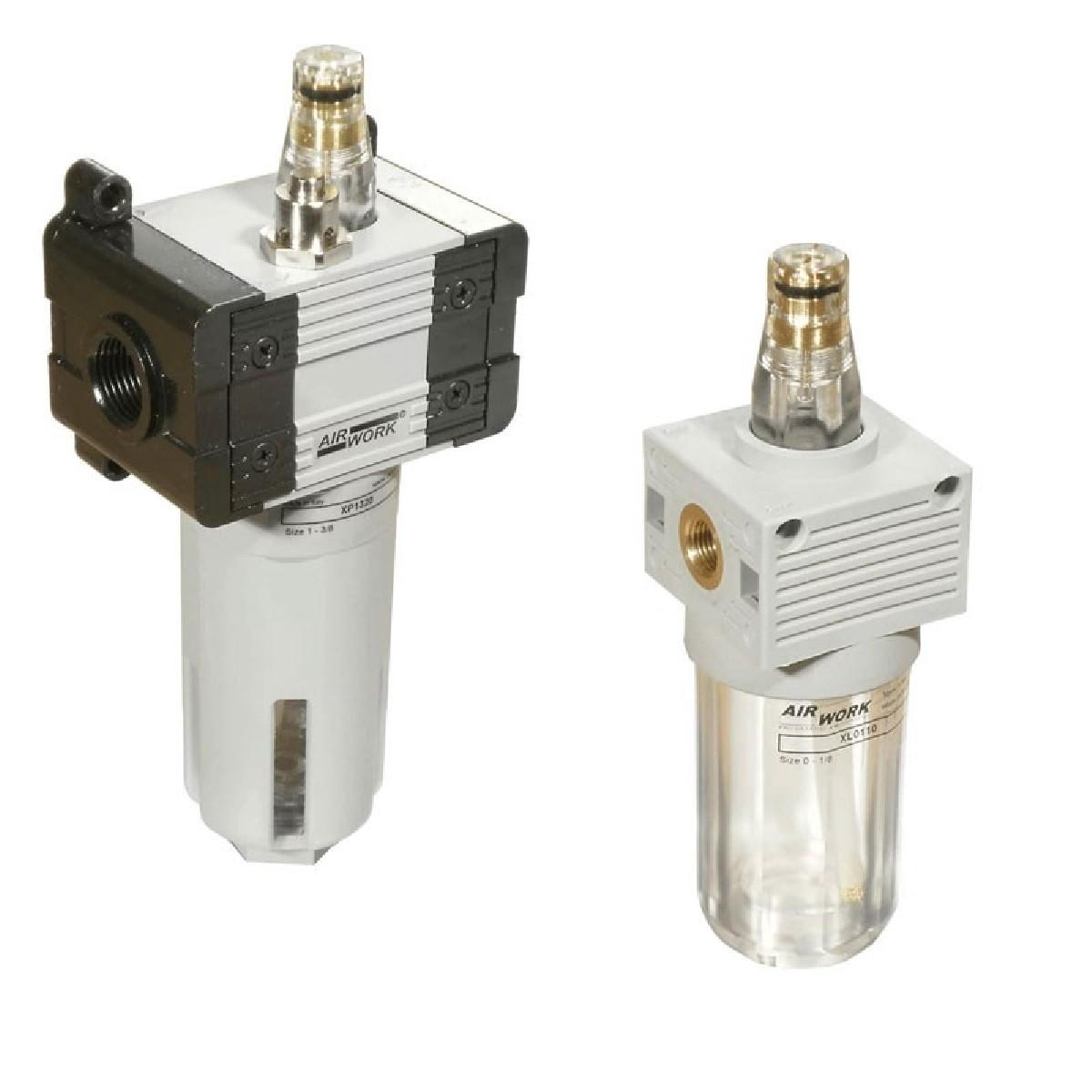 Davair Air treatment - pneumatic lubricators