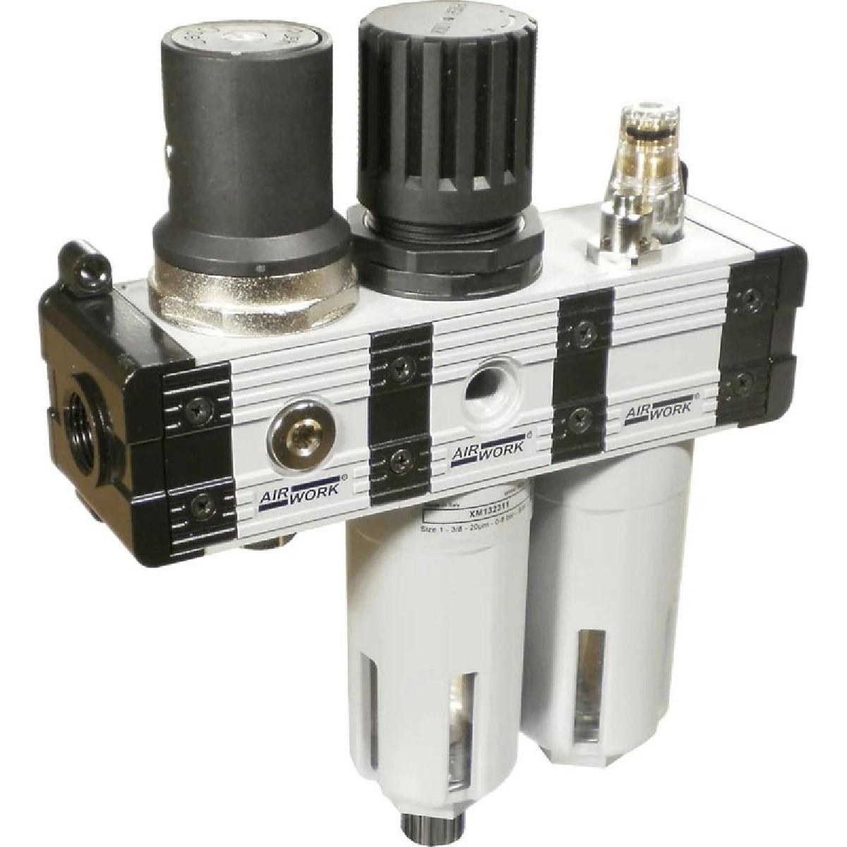 Davair Air treatment - pneumatic combination filters, lubricators and regulators