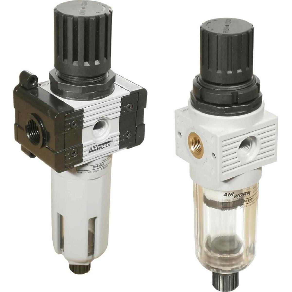 Davair Air treatment - Pneumatic filter regulators