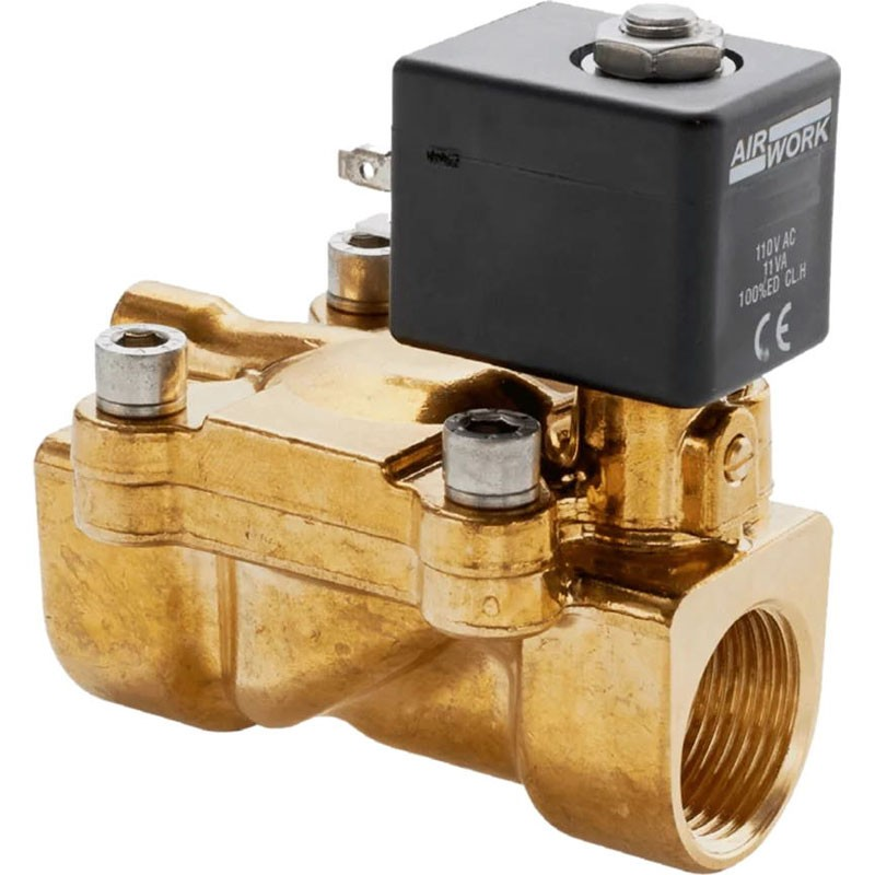 Indirect Acting Solenoid Valves